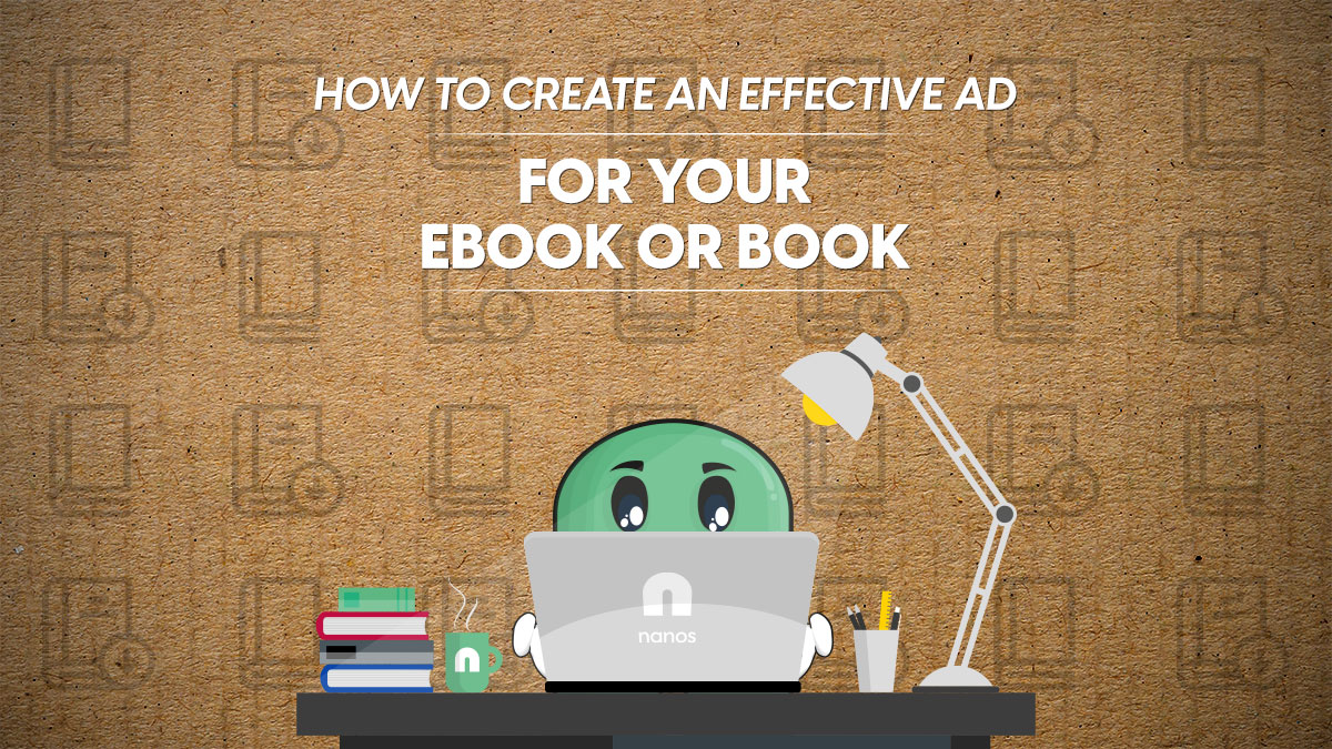 effective ad for ebook or book