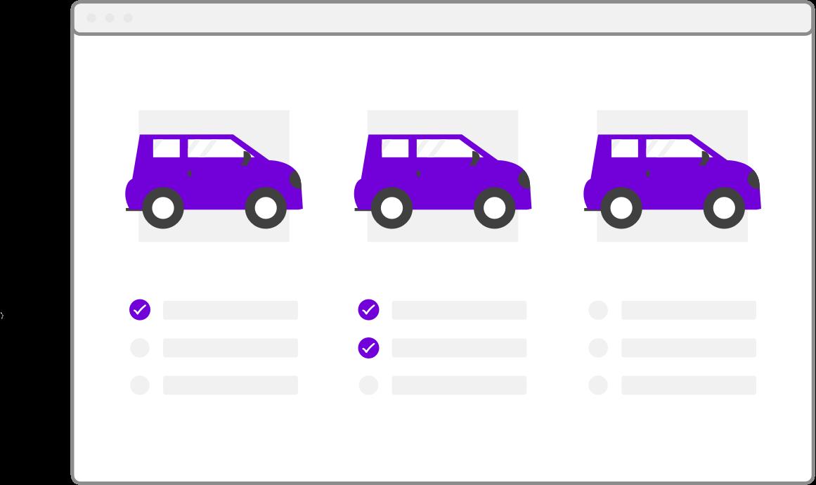 Online platform for car loan comparison