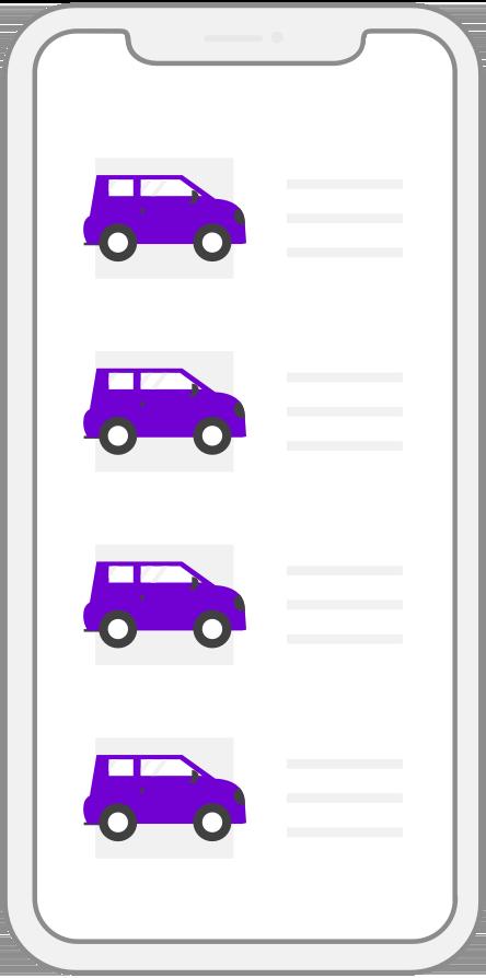 Car loan application files