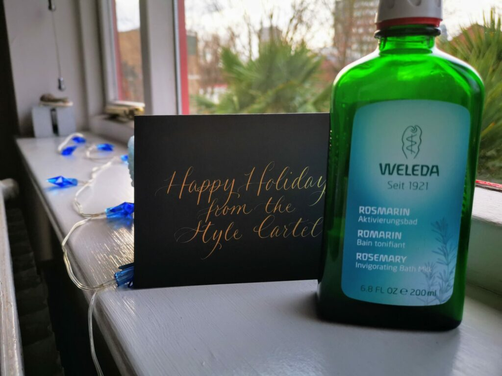 Rosemary Bath Milk Gift Gift Ideas for the Green Goddess Who Lives a Hip & Healthy Lifestyle