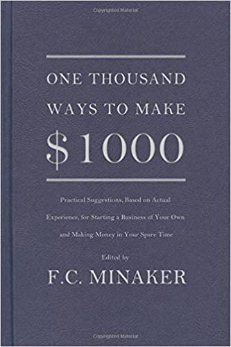 1000 Ways to Make $1,000