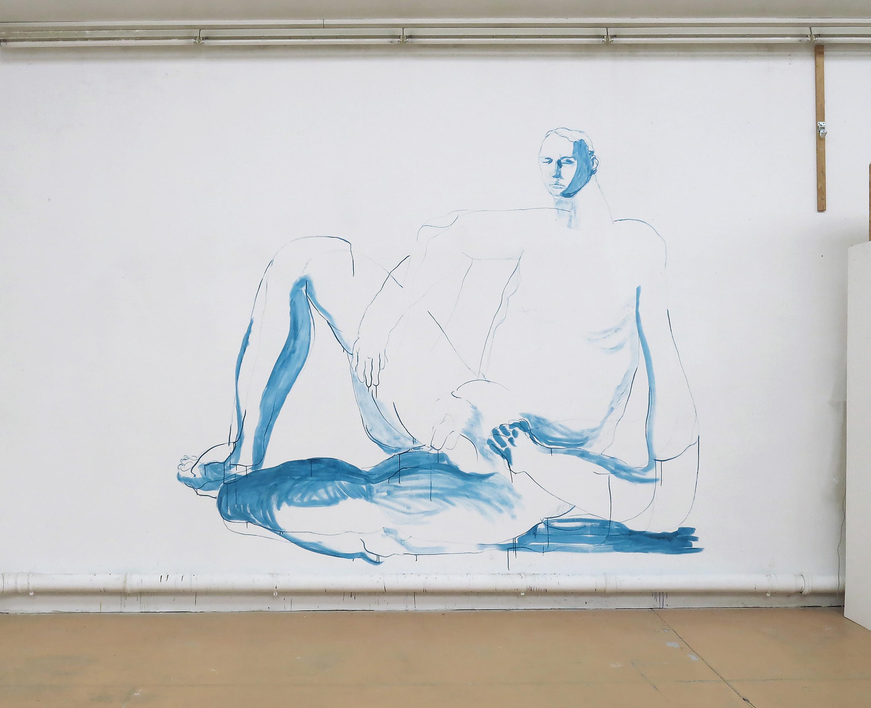 Big Blue Nude