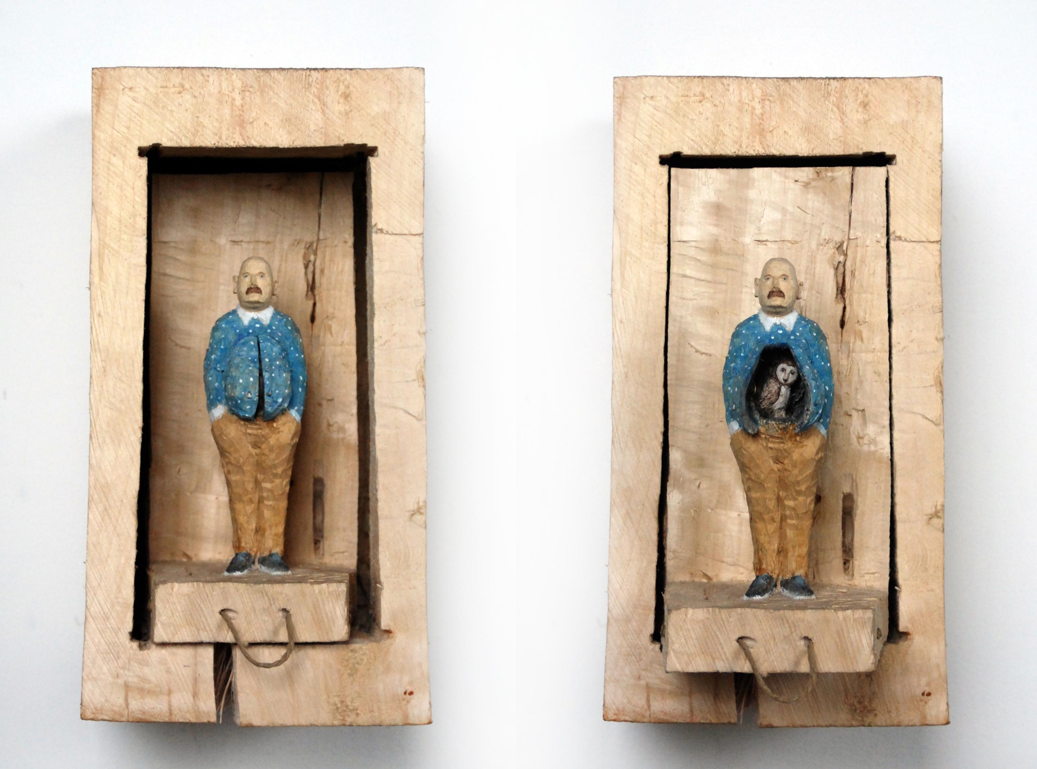 Kiste 31 – Mann mit Eule im Bauch