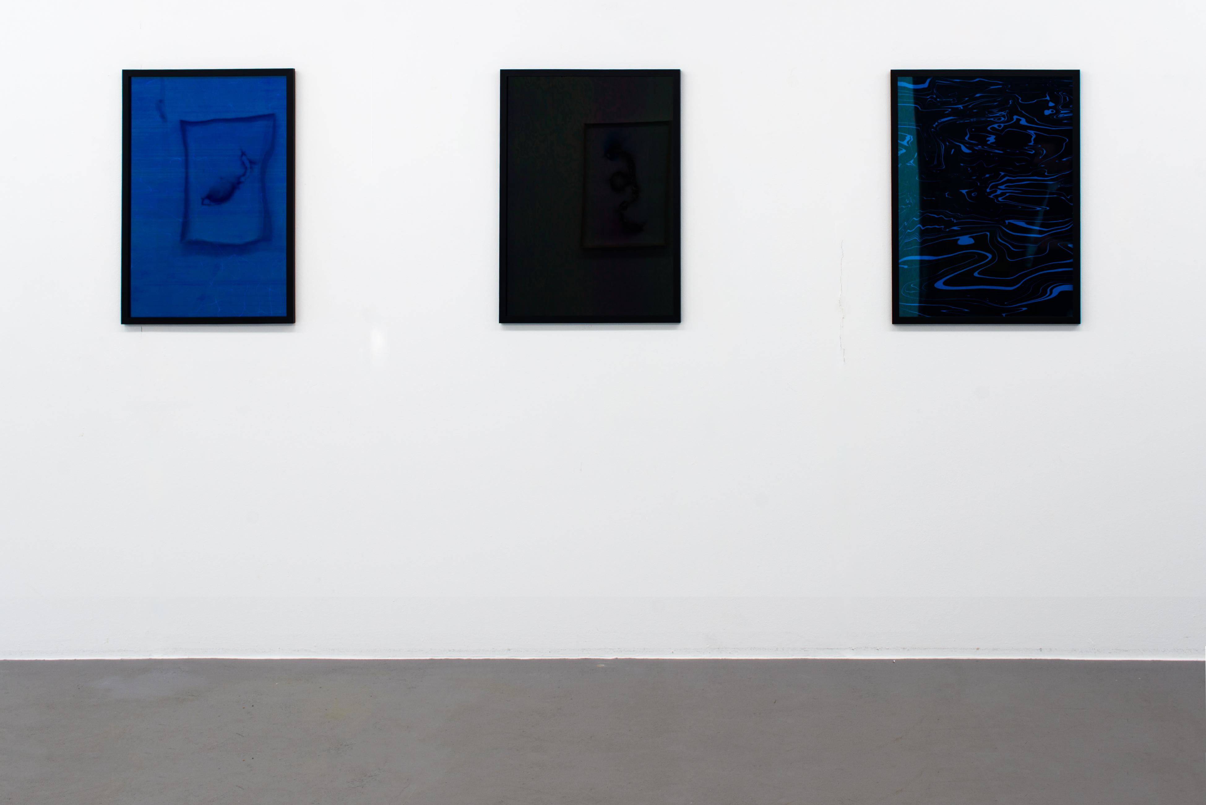 Blue Sapphire, Black, Electric Blue