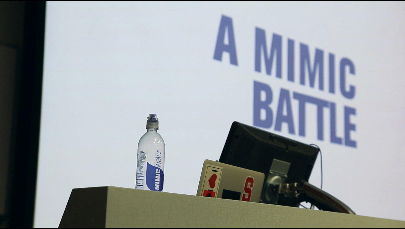 A Mimic Battle (screenshot)