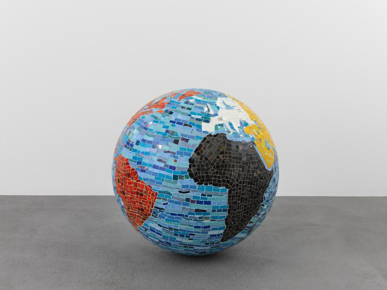 Mosaic Globe Piece