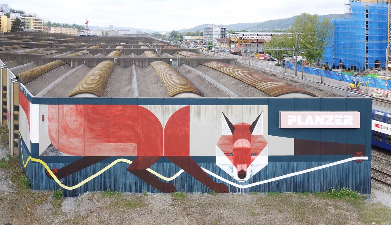 Witternder Fuchs