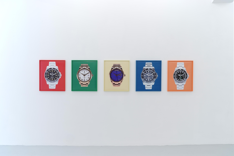 The Rolex Series (Che Guevara, Jay-Z, Dalai Lama, James Bond, Pablo Picasso)