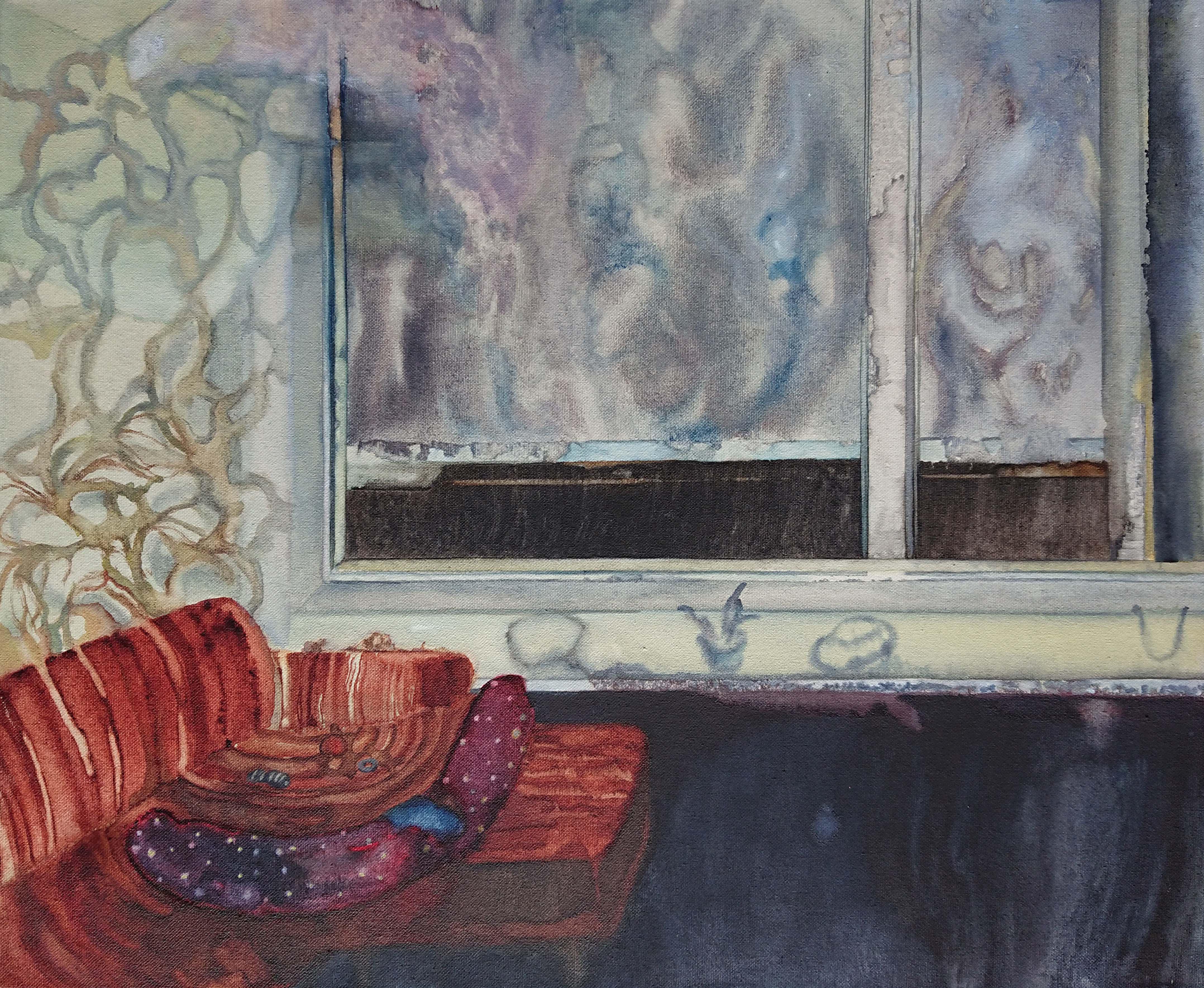Das Stillkissen auf dem Sofa