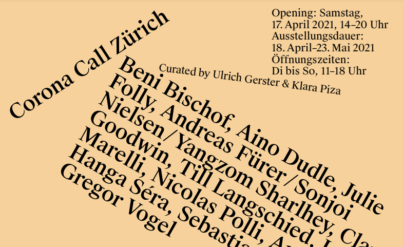 Corona Call Zürich (Wasserkirche)