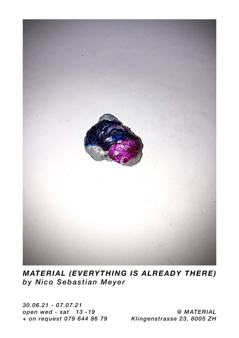 MATERIAL (everything is already there)