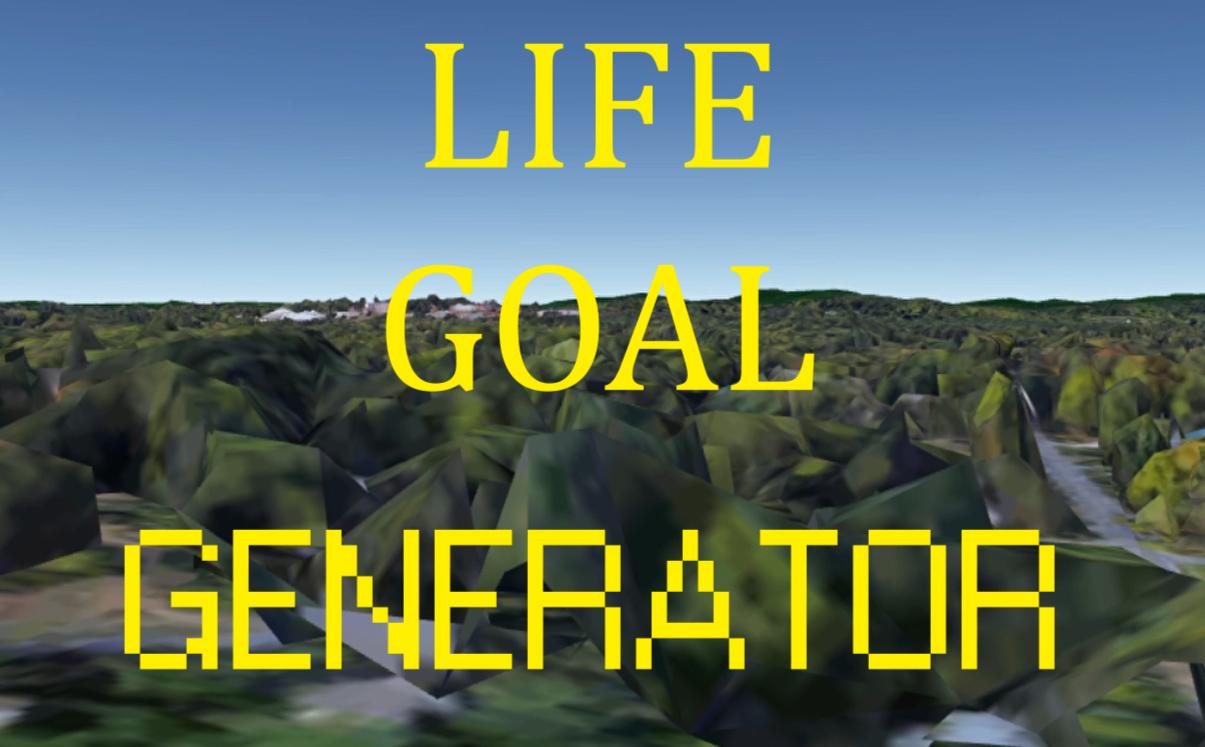 Life Goal Generator