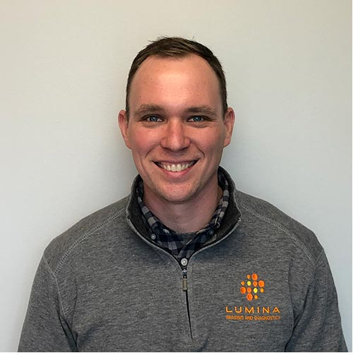 Headshot of Bryan Crowley, Manager, Lumina Imaging and Diagnostics