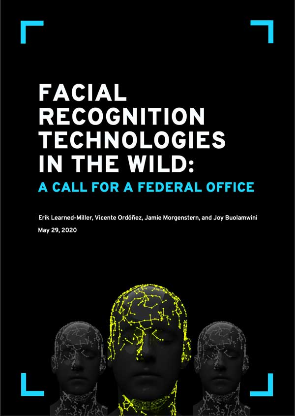 Facial Recognition Technologies In The Wild: A Call For Federal Office
