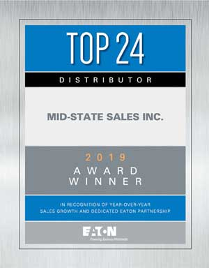 Eaton Top 24 Award
