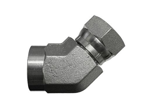 1504 - Female Pipe - Female Pipe Swivel 45 Degree Elbow