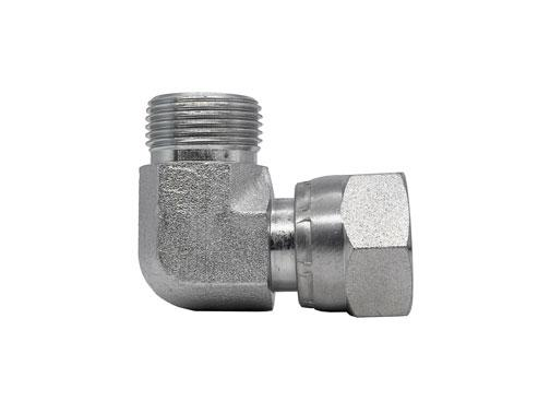 FF6500 - Male Face Seal - Female Face Seal Swivel 90 Degree Elbow