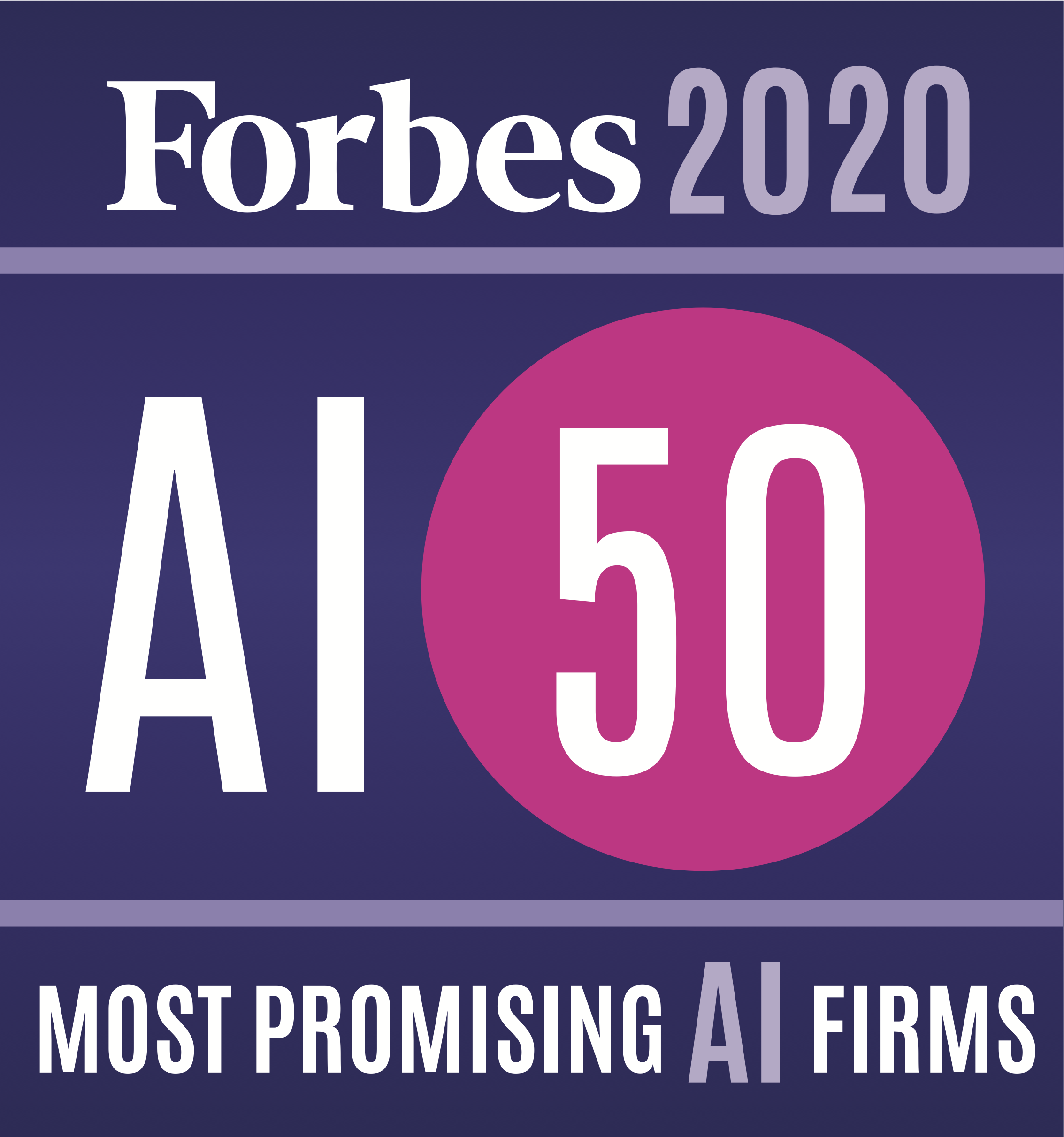Fiddler is one of Forbes' AI 50: America's Most Promising Artificial Intelligence Companies in 2020