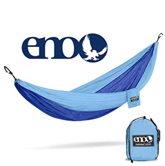 Blue ENO hammock