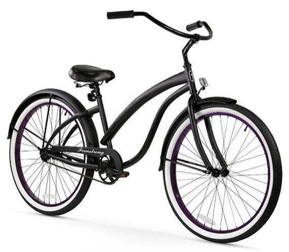 A classic beach bike
