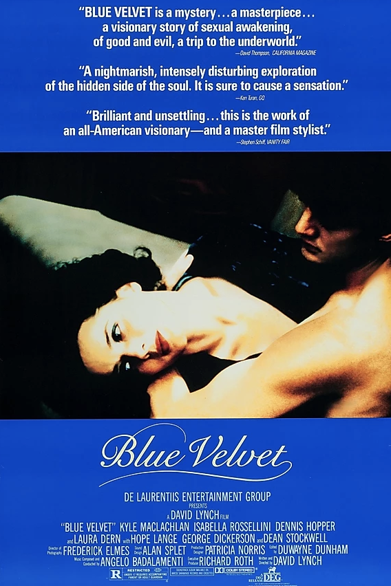 Movie Poster for the movie Blue Velvet