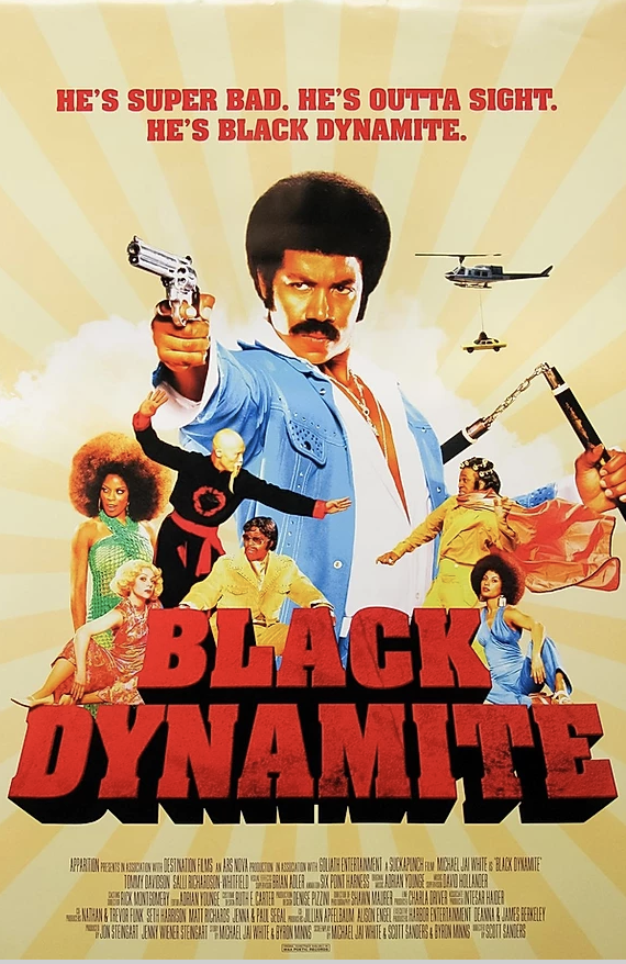 Movie Poster for the movie Black Dynamite