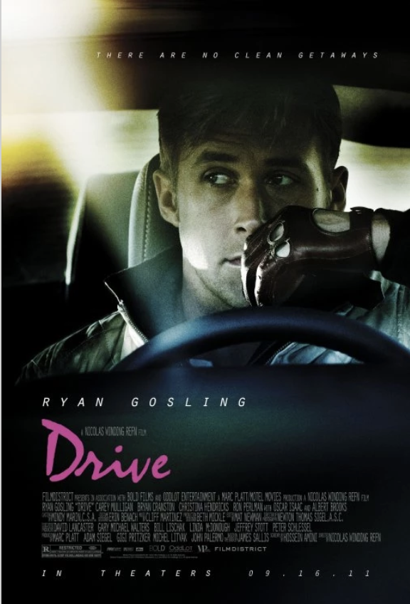 Movie Poster for the movie Drive