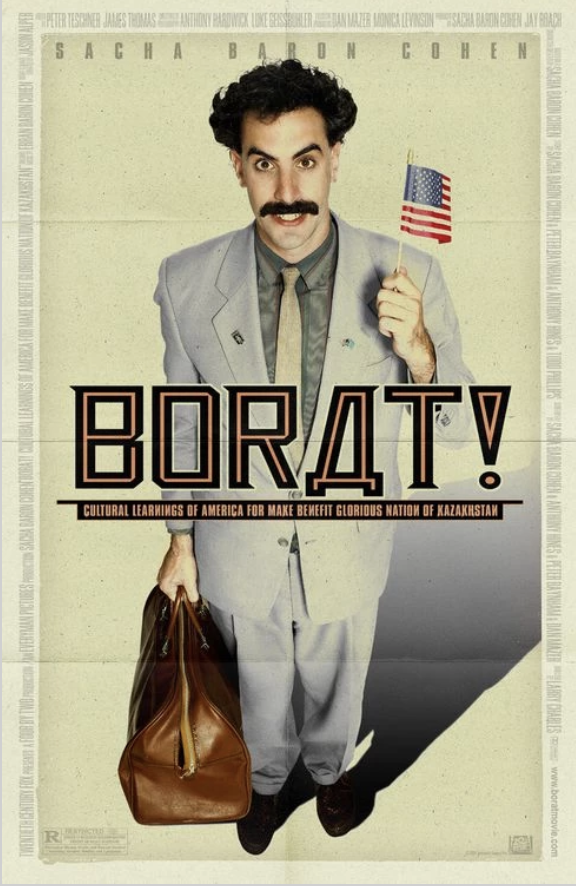Movie Poster for the movie Borat