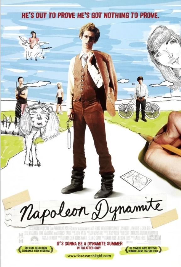 Movie Poster for the movie Napoleon Dynamite