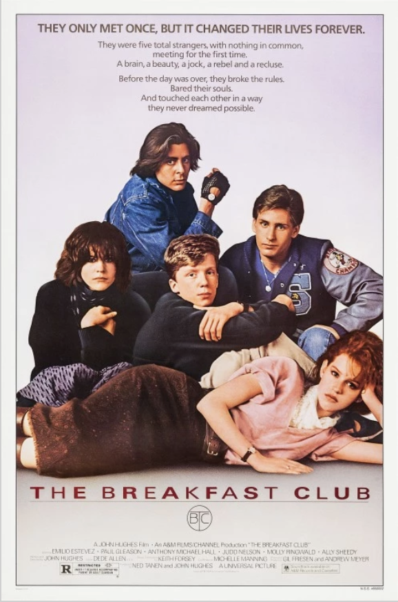 Movie Poster for the movie The Breakfast Club