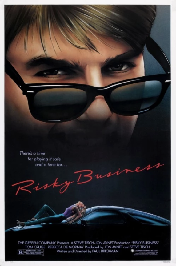 Movie Poster for the movie Risky Business