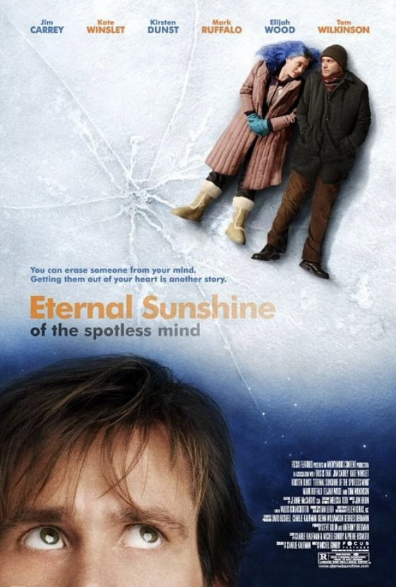 Movie Poster for the movie Eternal Sunshine of a Spotless Mind