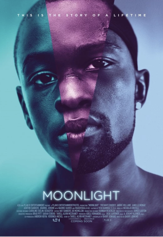 Movie Poster for the movie Moonlight