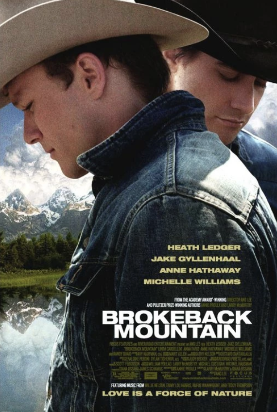 Movie Poster for the movie Brokeback Mountain
