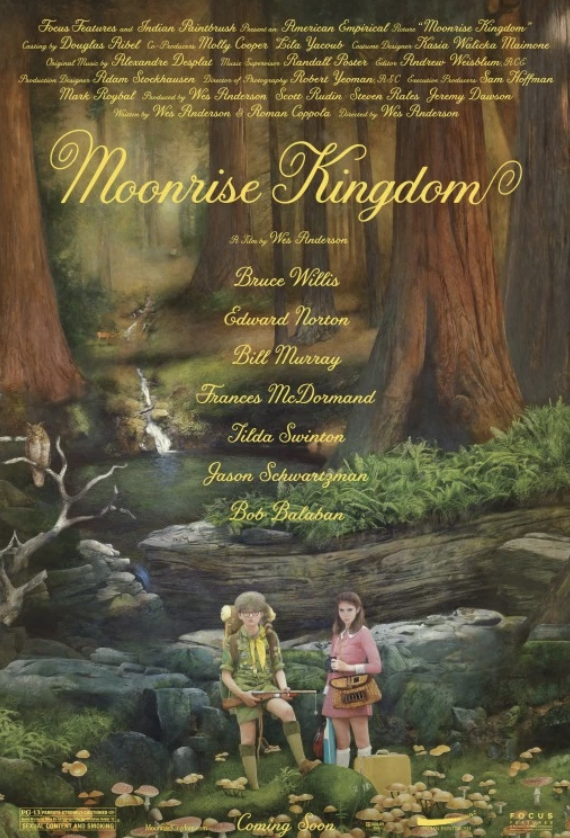 Movie Poster for the movie Moonrise Kingdom