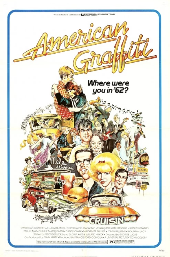 Movie Poster for the movie American Graffiti