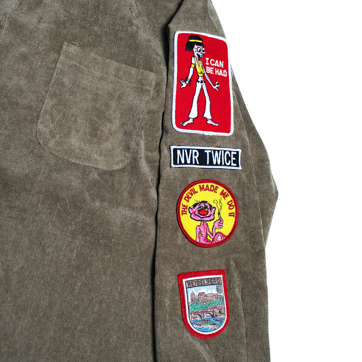 Hill Bomber Women's Jacket patches