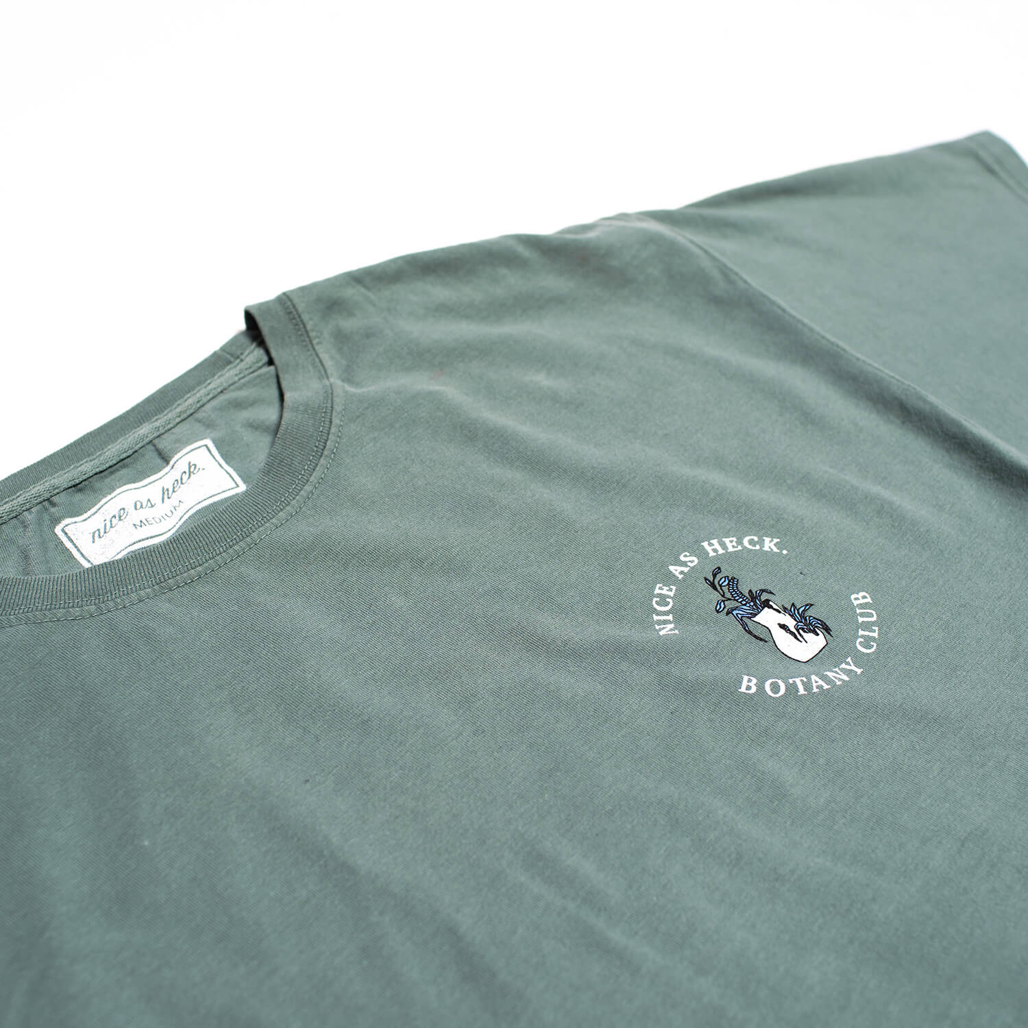 botany club tee close up