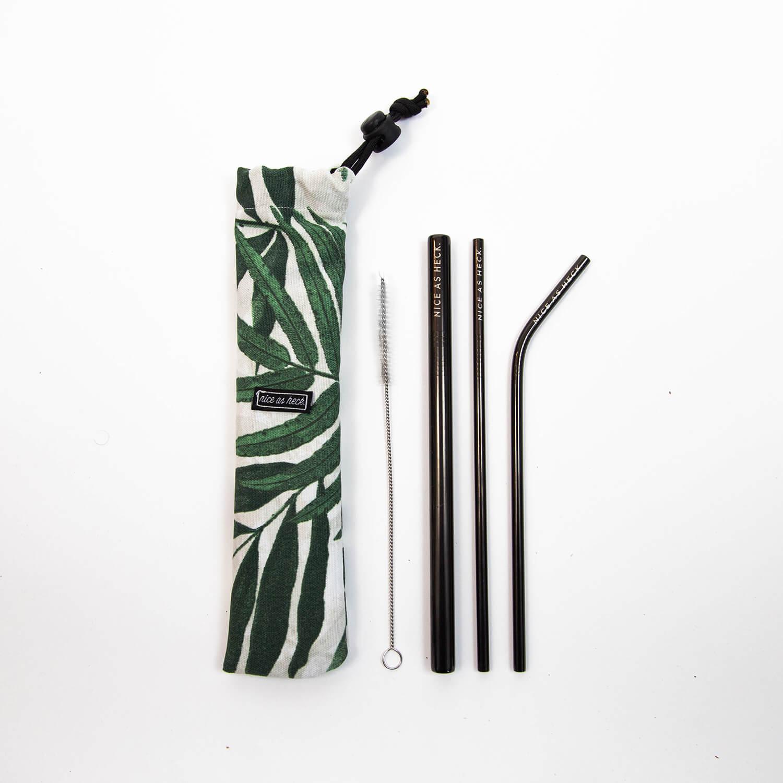 straw set close up