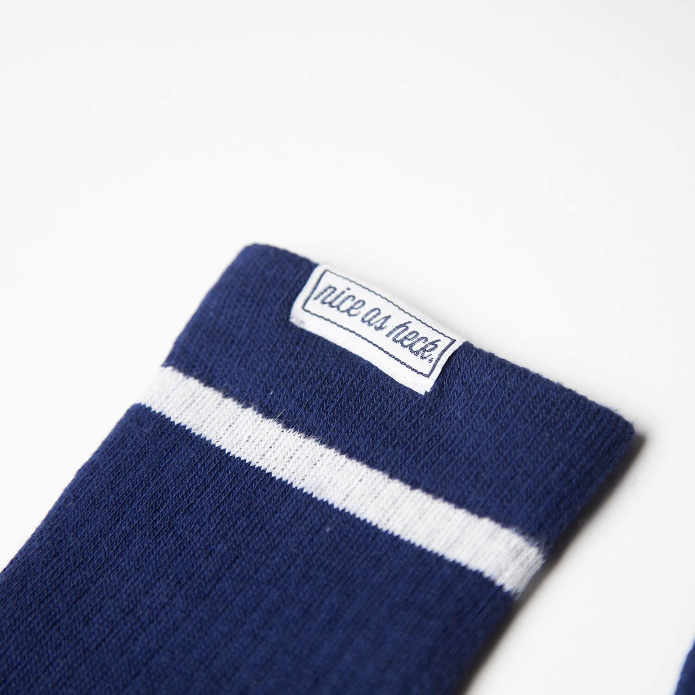naught socks close up