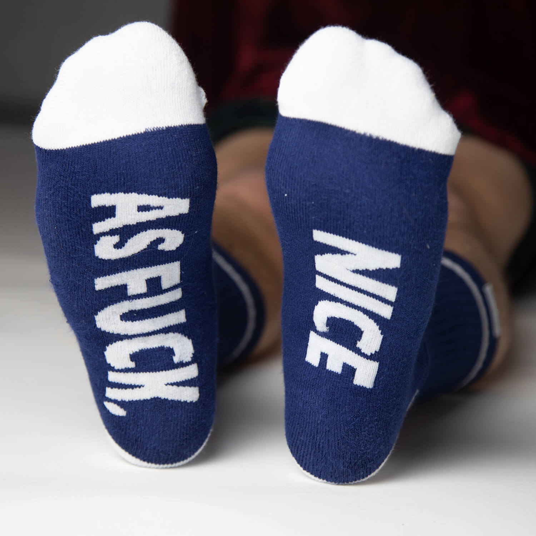 bottom of naught socks