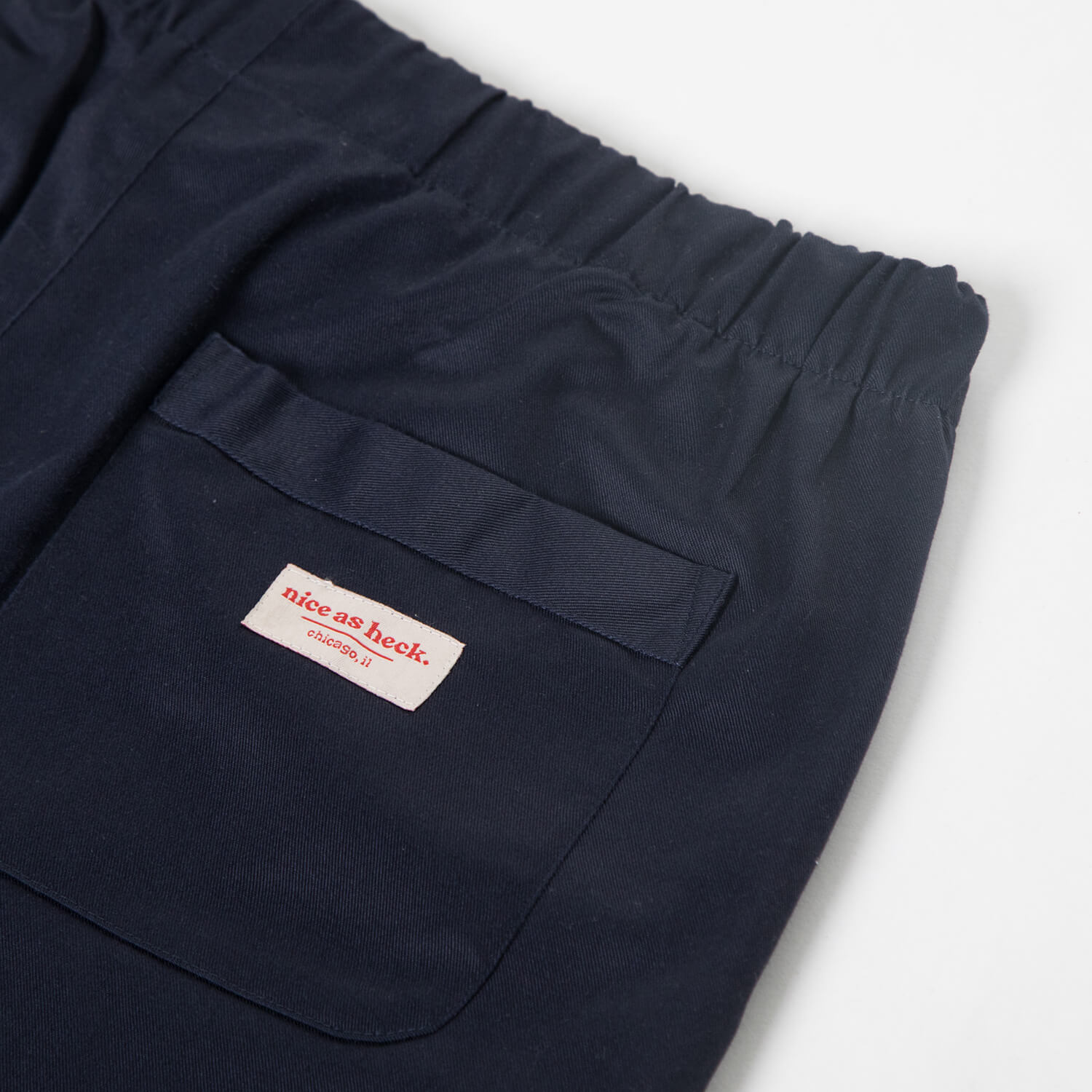 utility pants close up