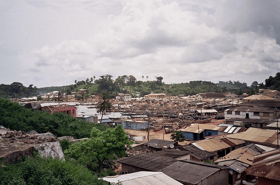 slum in ghana