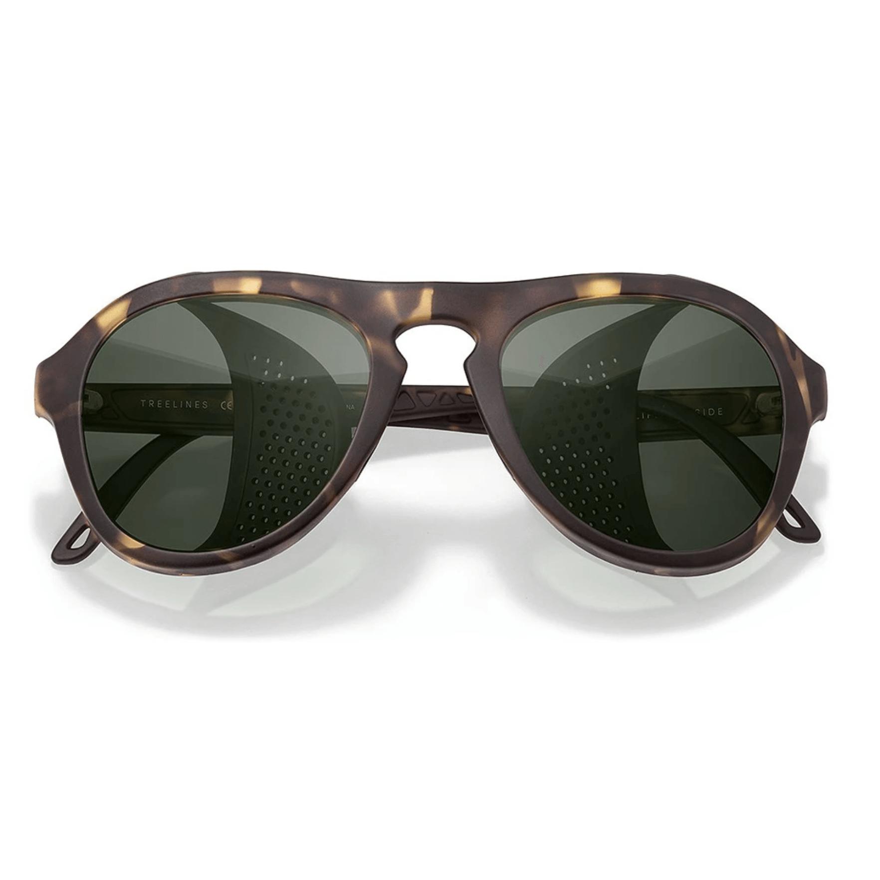 stylish green sunglasses