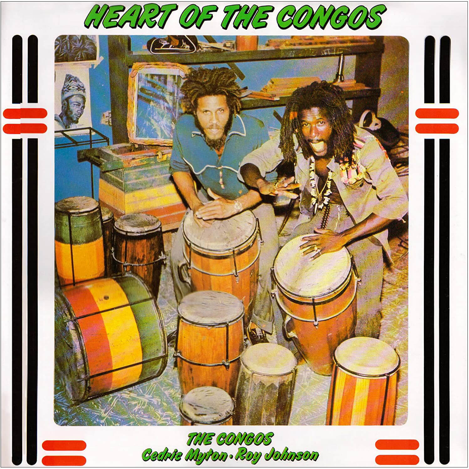 Heart of Congo album cover