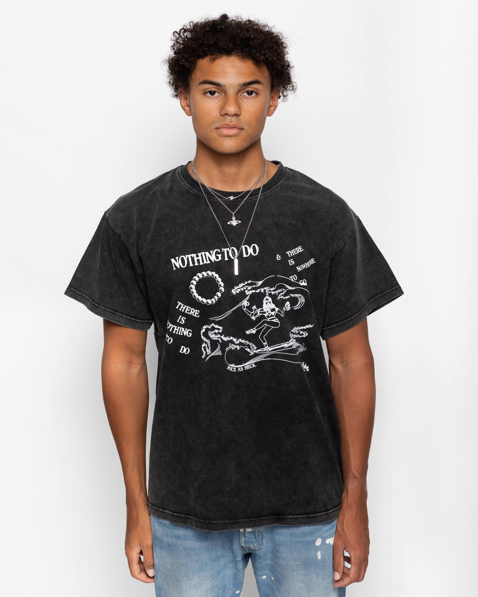 Boy model wearing Spirit Surfer Tee