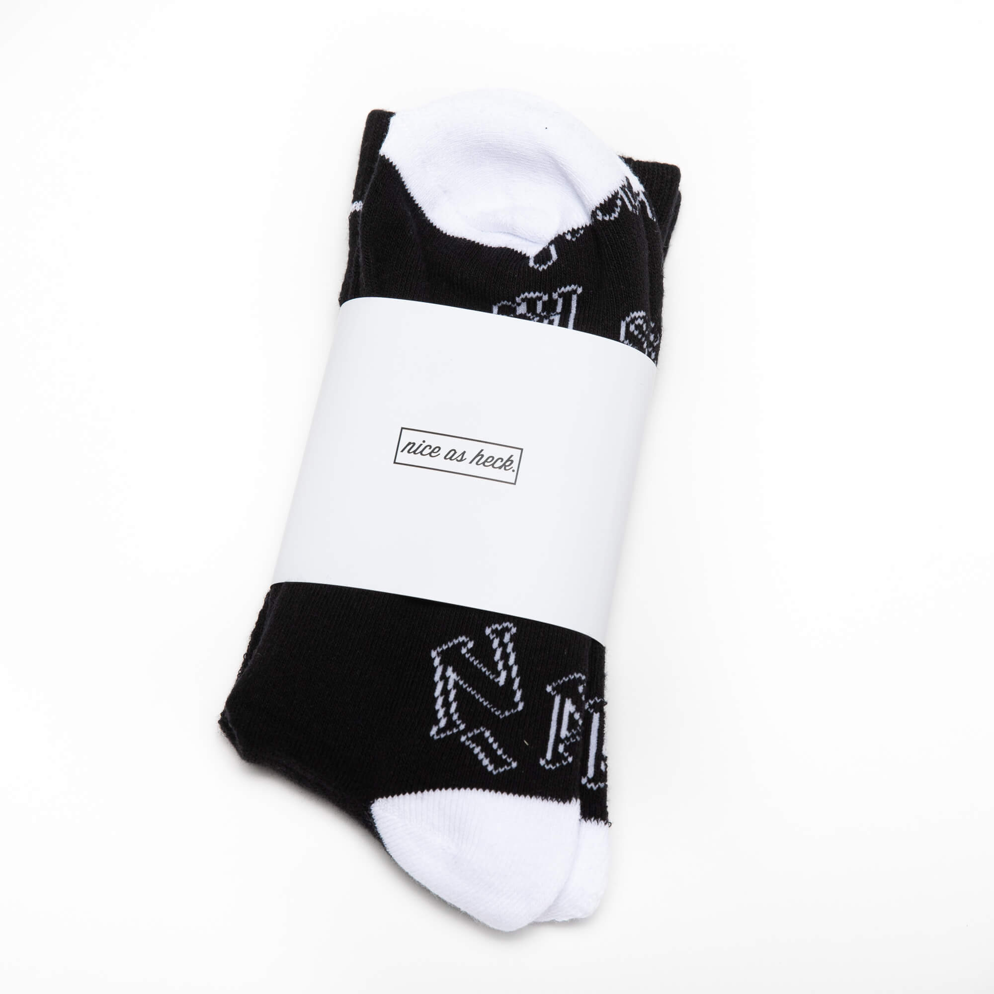 black jim socks in packaging