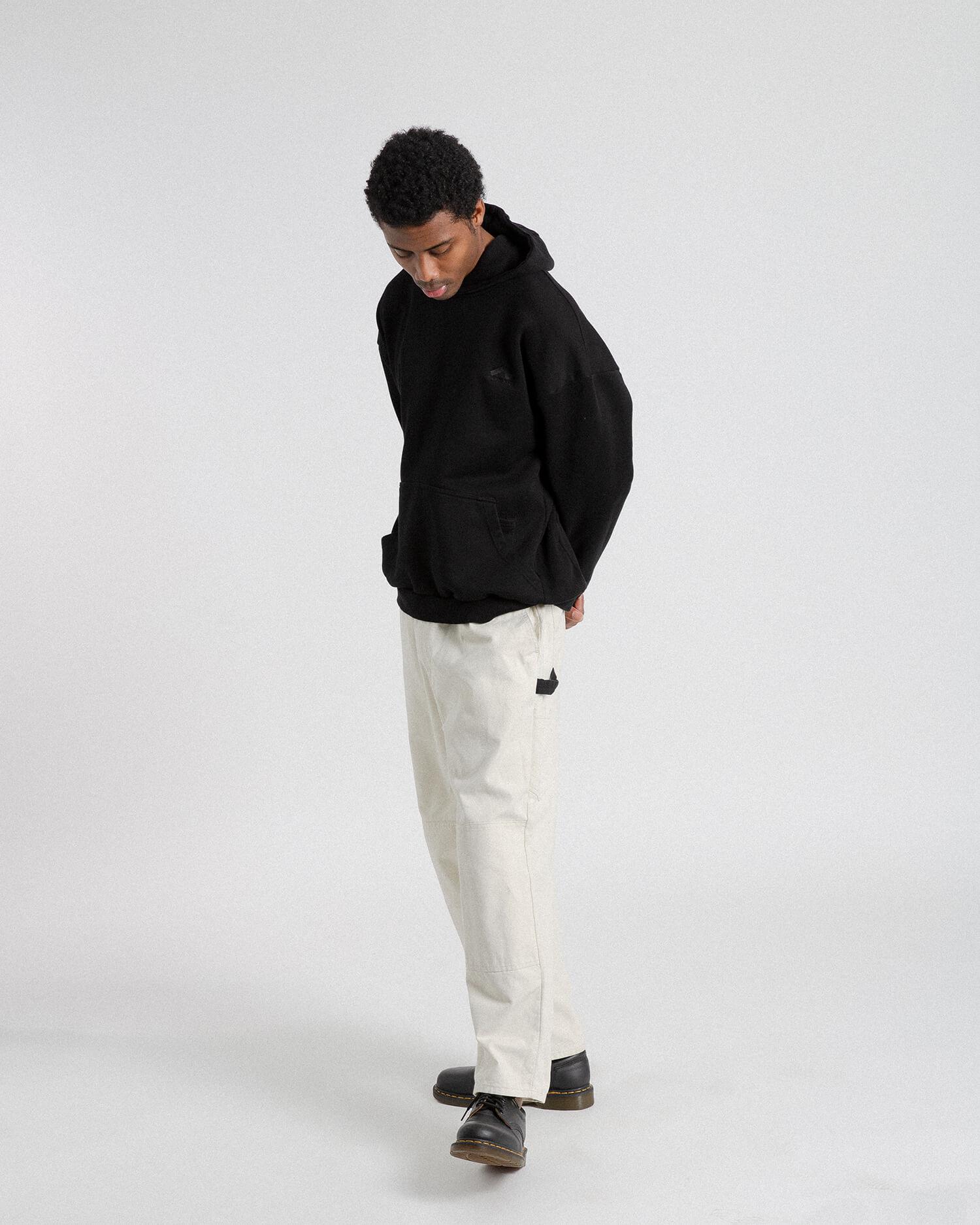 male model wearing favorite hoodie front view