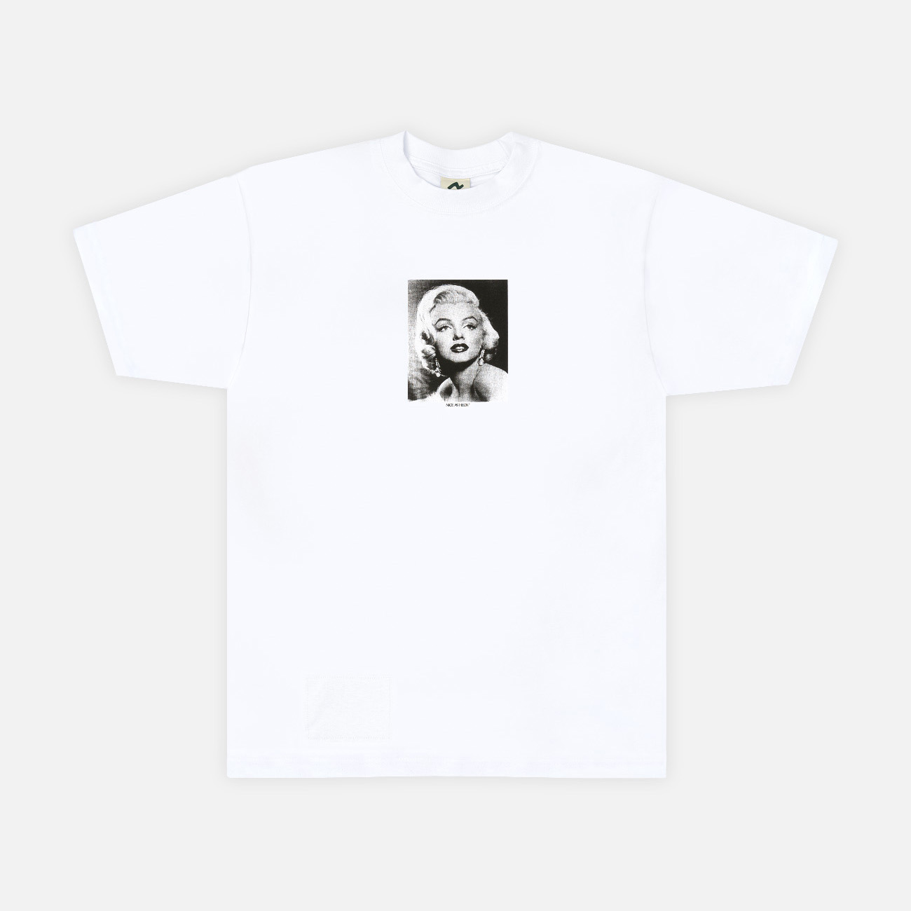 Marilyn Graphic Tee | White