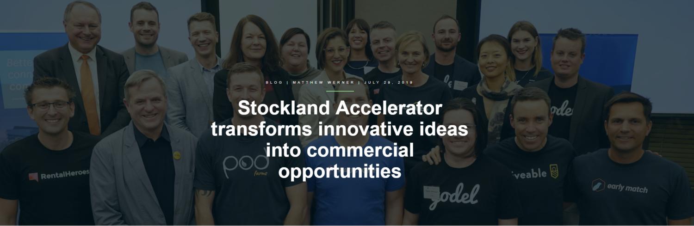 Stockland & Bluechilli Accelerator cohort graduation